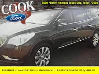 Brown 2015 Buick Enclave Premium Group FWD 6-Speed