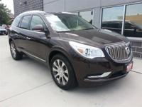 Certified. Dark Chocolate Metallic 2015 Buick Enclave