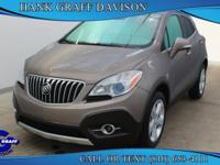 Take command of the road in the 2015 Buick Encore! With