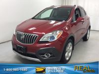 Ruby Red Metallic 2015 Buick Encore Leather AWD 6-Speed