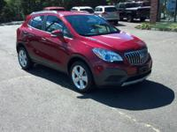 Take command of the road in the 2015 Buick Encore! It