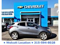 Clean CARFAX. CARFAX One-Owner. Gy 2015 Buick Encore