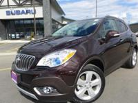 Options:  2015 Buick Encore Convenience|Brown|3.53