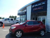 Sunroof, Encore Convenience, GM Certified, AWD,