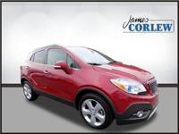 New Price! CARFAX One-Owner. Red 2015 Buick Encore