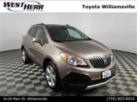 New Price! 2015 Buick Encore Beige / Tan Clean CARFAX.