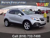 2016 Encore Leather!!! CHROME TRIM**BLIND SPOT ALERT**