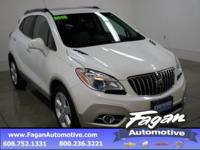 White Pearl Metallic 2015 Buick Encore Leather **ONE