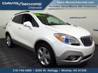 Take command of the road in the 2015 Buick Encore! The