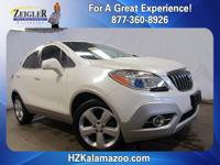Recent Arrival! 2015 Buick Encore Leather White