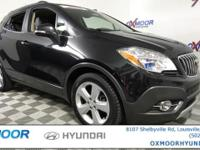 Buick Encore Leather CARFAX One-Owner. MOTOR TREND