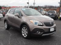 This 2015 COCOA SILVER METALLIC Buick Encore with