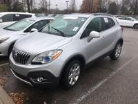 CARFAX One-Owner. Clean CARFAX. Silver 2015 Buick