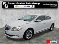 This 2015 Buick LaCrosse comes equipped with power door