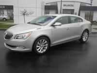 2015 Buick LaCrosse with the Leather package and the