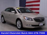 This 2015 Buick Lacrosse CXL is loaded! Eye catching