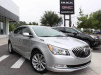 BUICK CERTIFIED PRE-OWNED VEHICLE!!! 3-DAY SATISFACTION