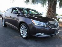 LaCrosse Buick 2015 Leather Group CARFAX One-Owner. New