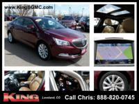 Deep Garnet Metallic 2015 Buick LaCrosse Leather Group