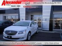 White 2015 Buick LaCrosse Leather Group AWD 6-Speed