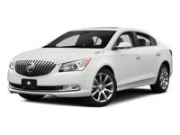 Check out this 2015 Buick LaCrosse Leather. Its