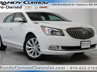 Options:  2015 Buick Lacrosse Cxl|Summit White|Light