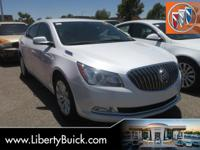 Clean CARFAX. 2015 Buick LaCrosse Leather Group FWD