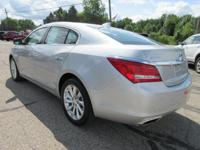 Options:  2015 Buick Lacrosse Leather|Quicksilver