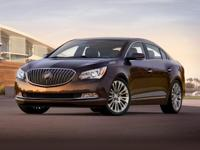 Recent Arrival! Summit White 2015 Buick LaCrosse