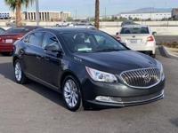 2015 Buick LaCrosse Leather Group 4D Sedan Smoky Gray