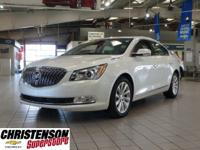 White Frost 2015 Buick LaCrosse Leather Group FWD
