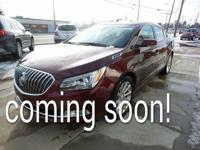 2015 Buick LaCrosse Leather Group Clean CARFAX. Vehicle