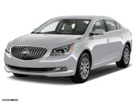 Options:  2015 Buick Lacrosse Leather|Leather 4Dr