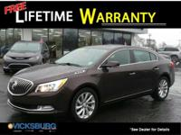 Options:  2015 Buick Lacrosse Leather Group|Purple|Just