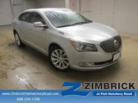 Options:  2015 Buick Lacrosse 4Dr Sdn Leather