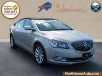 Climb inside the 2015 Buick LaCrosse! Simply a great