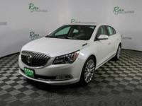 White Frost 2015 Buick LaCrosse Premium 2 Group FWD