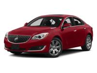 This Buick Regal has a powerful Turbocharged 2.0L/122