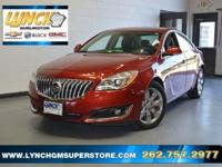 2015 Buick Regal, USB CHARGING PORTS, STREAMNG MUSIC,