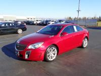 This 2015 Buick Regal GS includes a push button start,