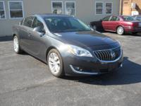 Options:  2015 Buick Regal Premium I|GrayBlack|14000