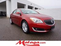2015 Buick Regal Premium 2 in Crystal Red Tintcoat with