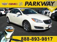 2015 Buick Regal Premium 2 White Diamond Tricoat 2.0L