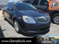 Clean CARFAX. 2015 Buick Verano FWD 6-Speed Automatic