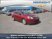 CARFAX 1-Owner, Excellent Condition, Buick Certified,
