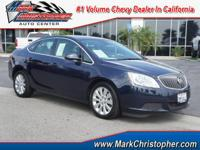 Buick Certified, ONLY 17,692 Miles! FUEL EFFICIENT 32