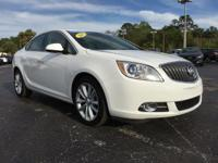 Certified. White 2015 Buick Verano Convenience Group