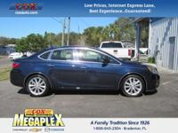 This 2015 Buick Verano Leather Group in Blue is well