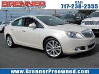 Come see this 2015 Buick Verano Leather Group. Its