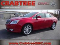 Options:  2015 Buick Verano Leather Group|Leather Group